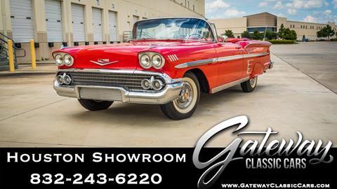 1958 Chevrolet Impala for sale in Houston, TX
