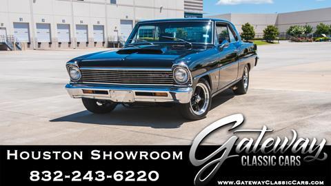 1967 Chevrolet Nova for sale in Houston, TX