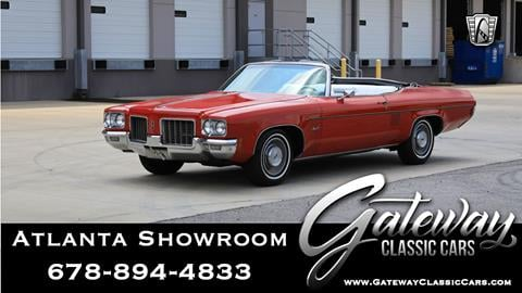 1971 Oldsmobile Delta Eighty-Eight for sale in Alpharetta, GA