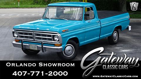 1971 Ford F-100 for sale in Lake Mary, FL