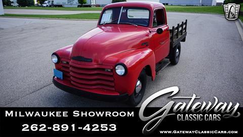 1951 Chevrolet 3100 for sale in Kenosha, WI