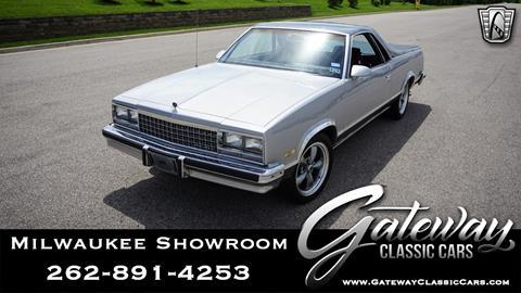 1986 Chevrolet El Camino for sale in Kenosha, WI