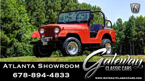 1972 Jeep CJ-5 for sale in Alpharetta, GA