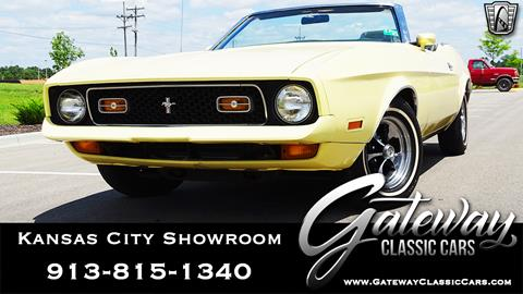 1972 Ford Mustang for sale in Olathe, KS