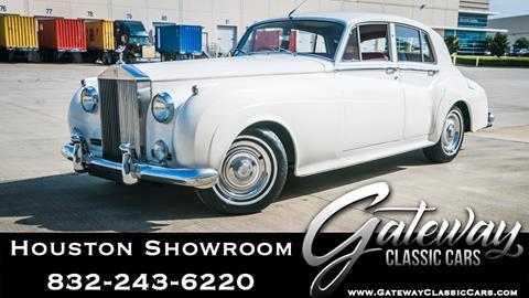 1962 Rolls-Royce Silver Cloud 2 for sale in Houston, TX