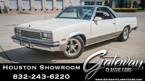 1986 Chevrolet El Camino for sale in Houston, TX