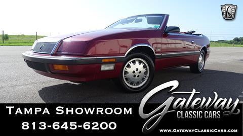 1989 Chrysler Le Baron for sale in Ruskin, FL