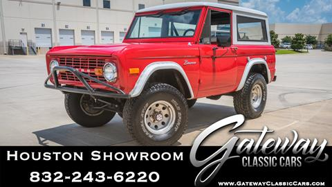 1976 Ford Bronco for sale in Houston, TX