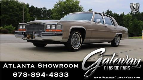 1986 Cadillac Fleetwood Brougham for sale in Alpharetta, GA