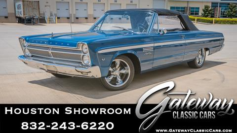 1965 Plymouth Sport Fury for sale in Houston, TX