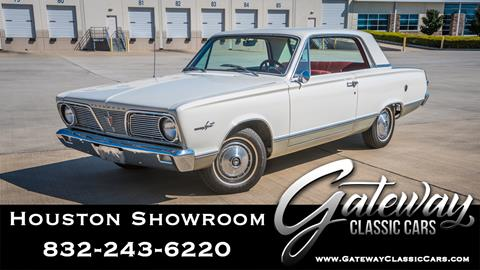 1966 Plymouth Valiant for sale in Houston, TX
