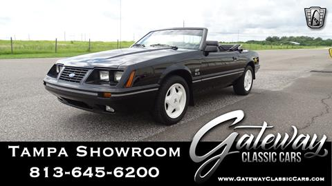 1984 Ford Mustang for sale in Ruskin, FL