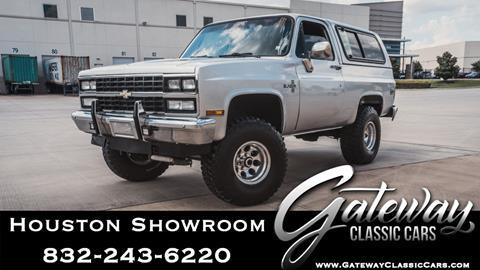 1987 Chevrolet Blazer for sale in Houston, TX