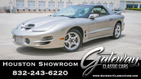 2000 Pontiac Firebird for sale in Houston, TX