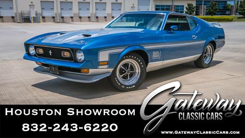 1971 Ford Mustang for sale in Houston, TX
