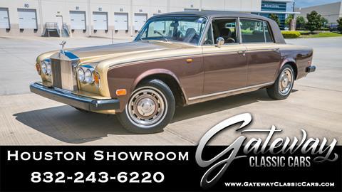 1975 Rolls-Royce Silver Shadow for sale in Houston, TX