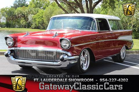 1957 Chevrolet Nomad for sale in Coral Springs, FL