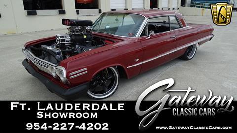 1963 Chevrolet Impala for sale in Coral Springs, FL