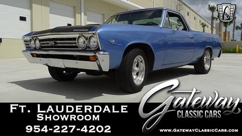 1967 Chevrolet El Camino for sale in Coral Springs, FL