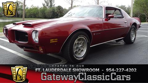 1973 Pontiac Firebird for sale in Coral Springs, FL