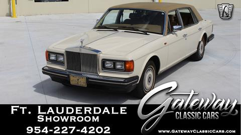 1988 Rolls-Royce Silver Spur for sale in Coral Springs, FL