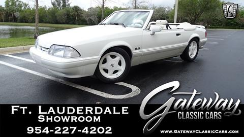 1993 Ford Mustang for sale in Coral Springs, FL