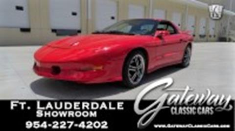 1995 Pontiac Firebird for sale in Coral Springs, FL