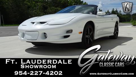 2000 Pontiac Firebird for sale in Coral Springs, FL