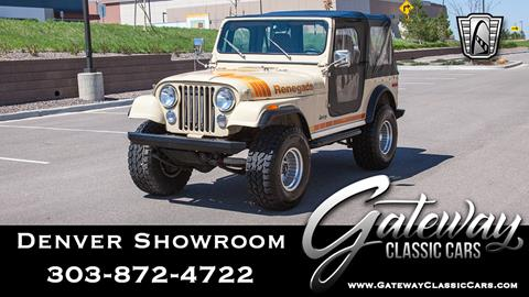 1979 Jeep CJ-7 for sale in Englewood, CO