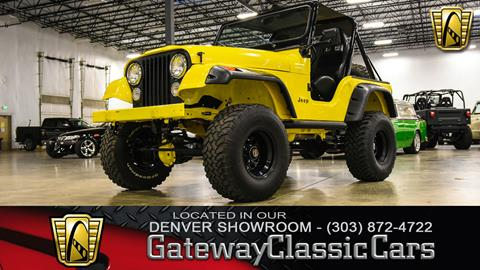 1981 Jeep CJ-5 for sale in Englewood, CO