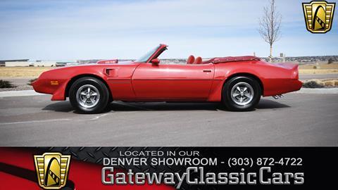 1981 Pontiac Firebird for sale in Englewood, CO