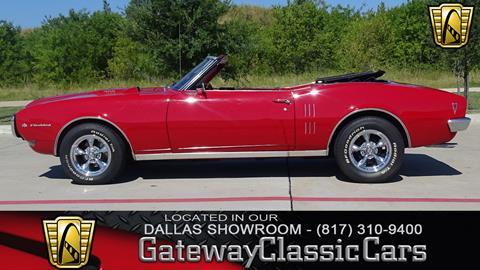 1968 Pontiac Firebird for sale in Grapevine, TX