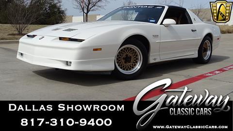 1989 Pontiac Firebird for sale in Grapevine, TX