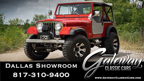 1985 Jeep CJ-7 for sale in Grapevine, TX