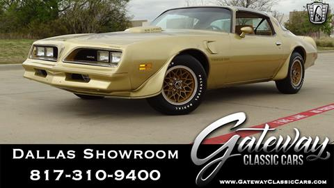 1978 Pontiac Firebird for sale in Grapevine, TX