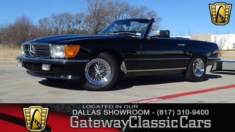 1984 Mercedes-Benz 500-Class for sale in Grapevine, TX