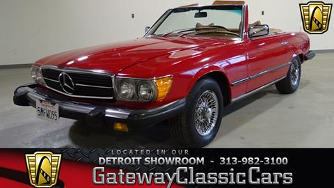 1976 Mercedes-Benz 450-Class for sale in Dearborn, MI