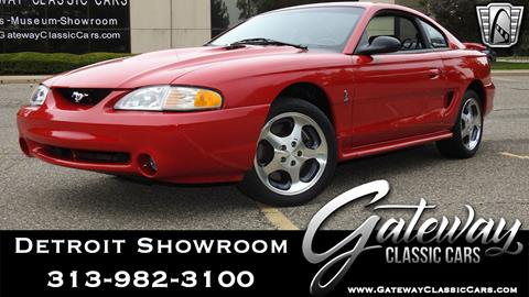 1997 Ford Mustang SVT Cobra for sale in Dearborn, MI
