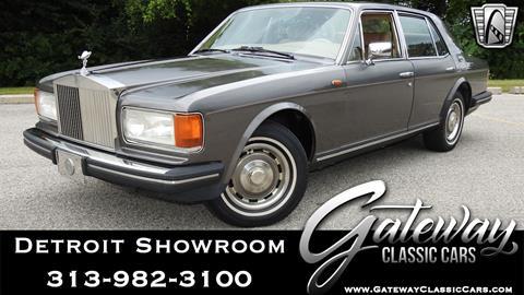 1985 Rolls-Royce Silver Spirit for sale in Dearborn, MI