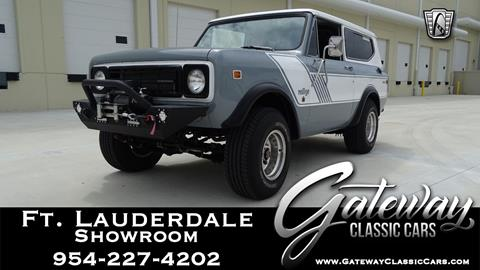 1979 International Scout for sale in Coral Springs, FL