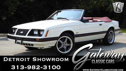 1983 Ford Mustang for sale in Dearborn, MI