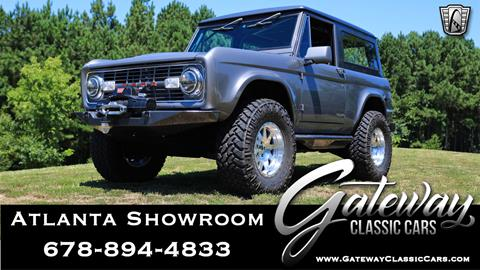 1976 Ford Bronco for sale in Alpharetta, GA