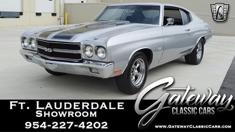 1970 Chevrolet Chevelle for sale in Coral Springs, FL