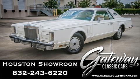 1977 Lincoln Mark VIII for sale in Houston, TX