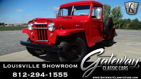 Willys Jeep Truck For Sale >> 1957 Willys Jeep For Sale In Memphis In