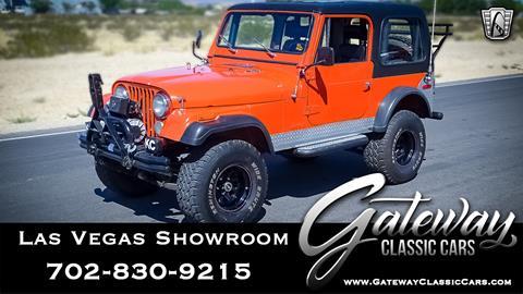 1979 Jeep CJ-7 for sale in Las Vegas, NV