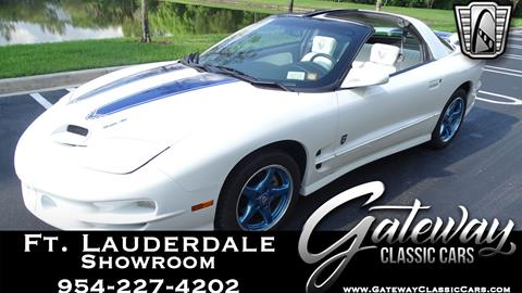 1999 Pontiac Firebird for sale in Coral Springs, FL