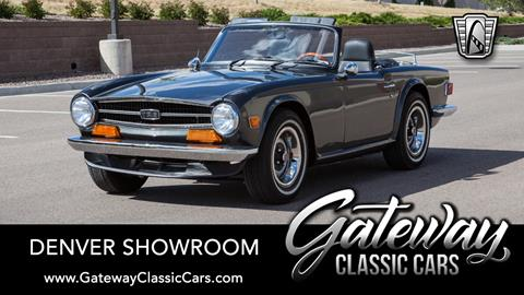 Triumph Cars For Sale >> 1973 Triumph Tr6 For Sale In Englewood Co