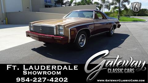 1977 Chevrolet El Camino for sale in Coral Springs, FL