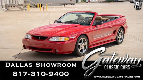 1994 Ford Mustang SVT Cobra for sale in Grapevine, TX